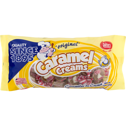 Goetze's Caramel Creams, 12oz Bag