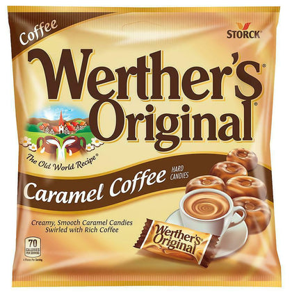 Werther's Original, Caramel Coffee Hard Candies, 5.5 Oz