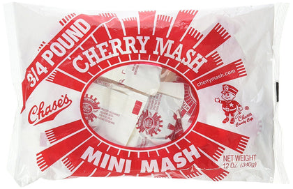 Chase's Cherry Mash, Mini Mash Candy, 12oz. Bag