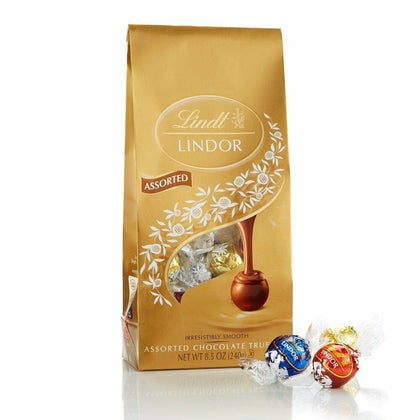 Lindt Lindor Assorted Chocolate Truffles, 8.5oz
