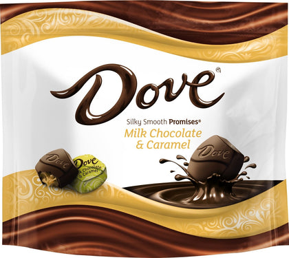 Dove Milk Chocolate & Caramel Silky Smooth Promises, 7.61oz Bag