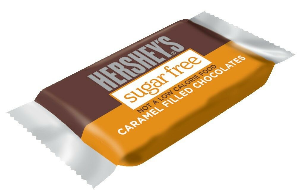 Hershey's Sugar Free Caramel Filled Milk Chocolate Candy, 3oz