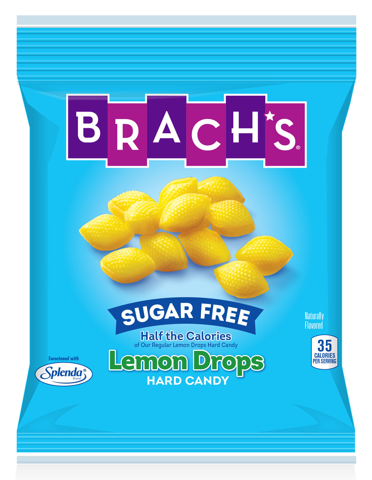 Brach's Sugar Free Lemon Drops Hard Candy, 4.5oz Bag