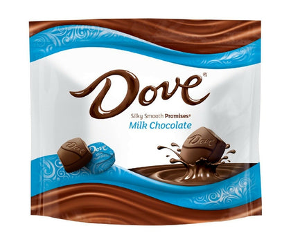 Dove Milk Chocolate Silky Smooth Promises, 8.46oz Bag