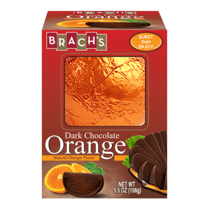 Brach's Dark Chocolate Orange Ball, 5.5 Oz