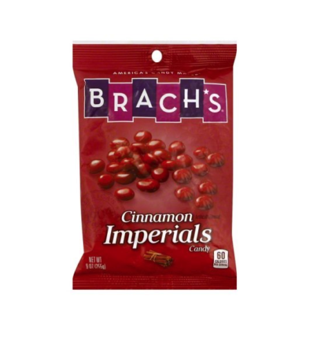 Brach's Cinnamon Imperials Candy, 9oz Bag