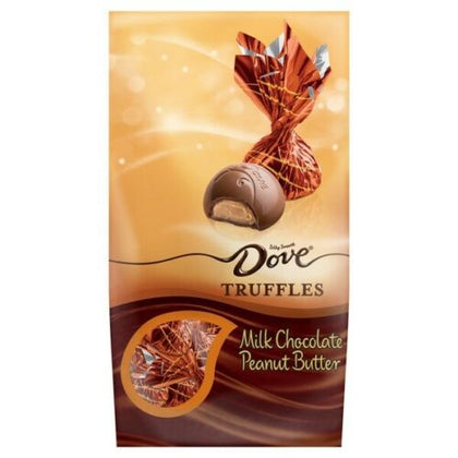 Dove Truffles, Silky Smooth Milk Chocolate Peanut Butter Truffles, 5.31oz