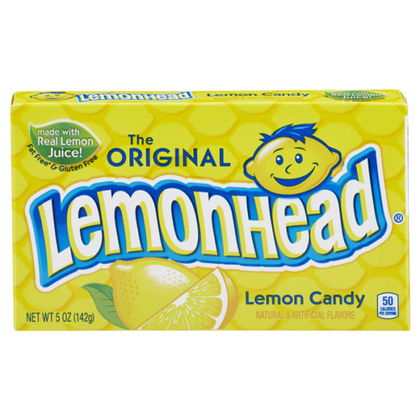 The Original Lemonhead Lemon Candy, 5oz Theater Box