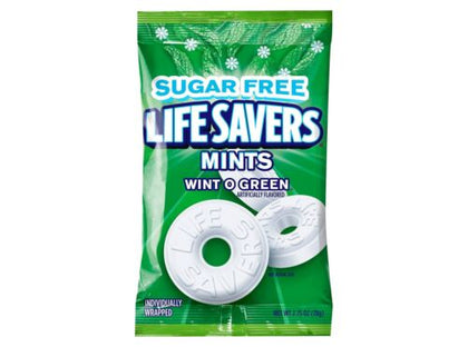Life Savers Wint-o-Green Mints Sugar Free, 2.75oz