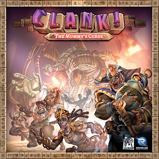 Clank!: The Mummy`s Curse Expansion