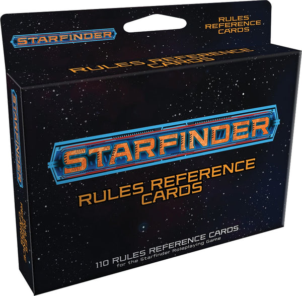Starfinder RPG: Rules Reference Cards Deck