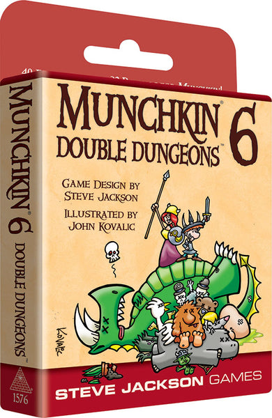 Munchkin: Munchkin 6 - Double Dungeons (Expanded Edition)