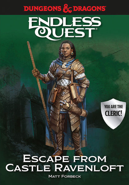 Dungeons & Dragons RPG: An Endless Quest Adventure - Escape from Castle Ravenloft (Hardcover)