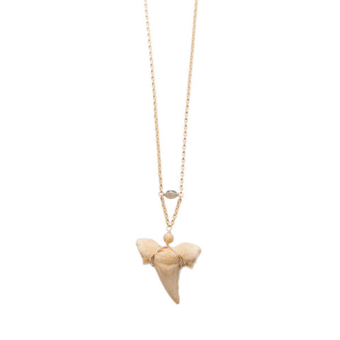 'siren' sharks tooth necklace