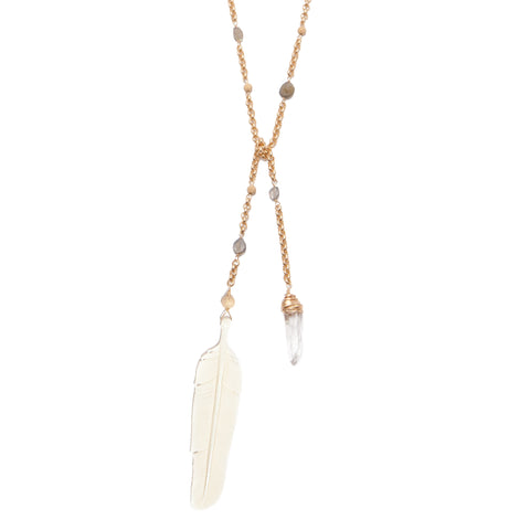 carved feather necklace. carved feather jewelry