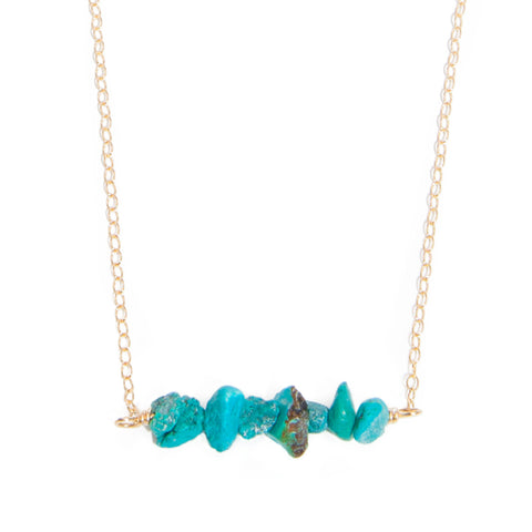 'love stone' gift set with turquoise - $109