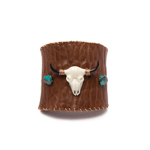 'jolene' cuff - brown