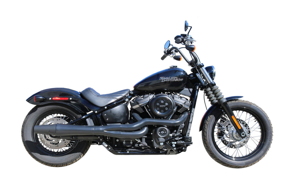 ThunderHeader Exhaust Black M8 Softails