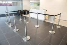 Load image into Gallery viewer, Retractable Queuing Stanchion - 4m Belt