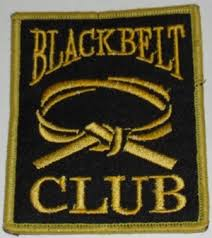 Black Belt Club Badges