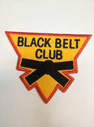 Black Belt Club Badges (Triangle)