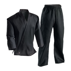 Black Cross Over Martial Arts Uniform