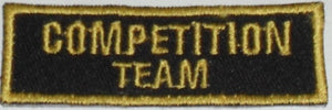 Competition Team Badge