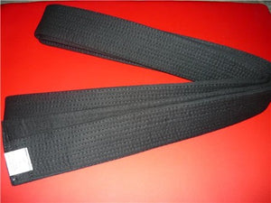 Deluxe Martial Arts Black Belt