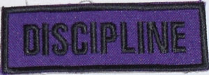 Discipline Badge