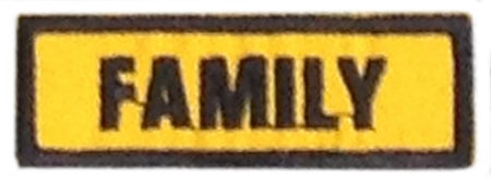Family Badge - YELLOW
