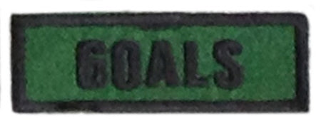 Goals Badge
