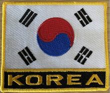 Load image into Gallery viewer, Korean Flag Badge