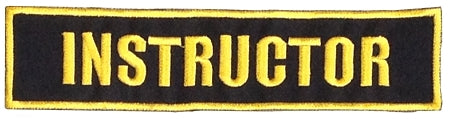 Instructor Badge - Large