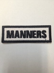 Manners Badge