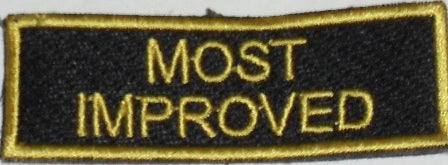 Most Improved Badges