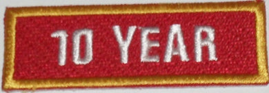 Recognition Badge - 10 Years
