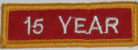 Recognition Badge - 15 Years