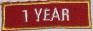 Recognition Badge - 1 Year
