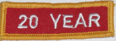 Recognition Badge - 20 Years