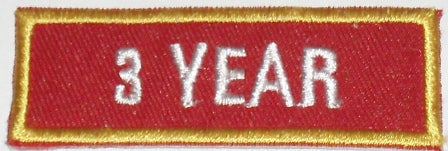 Recognition Badge - 3 Year