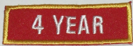 Recognition Badge - 4 Years