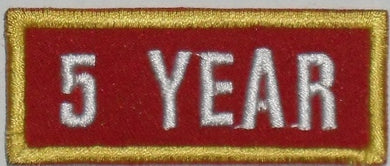 Recognition Badge - 5 Years