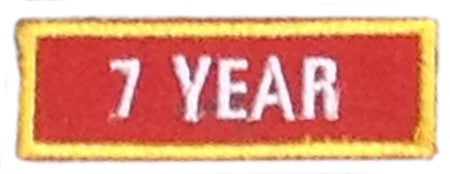 Recognition Badge - 7 Years