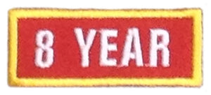 Recognition Badge - 8 Years