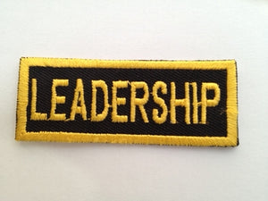 Rectangle Leadership Badge