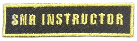 Senior Instructor Badge