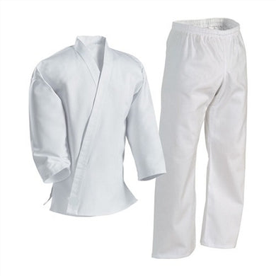 White Cross-Over Martial Arts Uniform