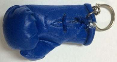 TAEKWONDO BLUE BOXING GLOVE KEY RING