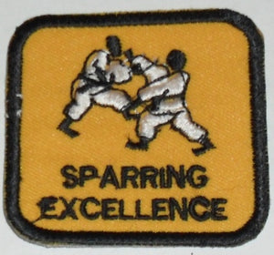 SPARRING EXCELLENCE BADGES