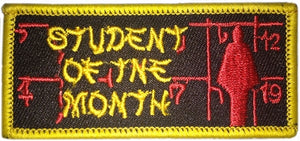 STUDENT OF THE MONTH BADGES